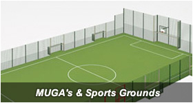 MUGA's & Sports Grounds fencing