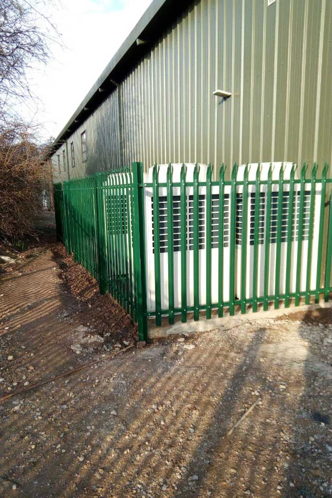 Steel Palisade Fencing Rennyco Limited