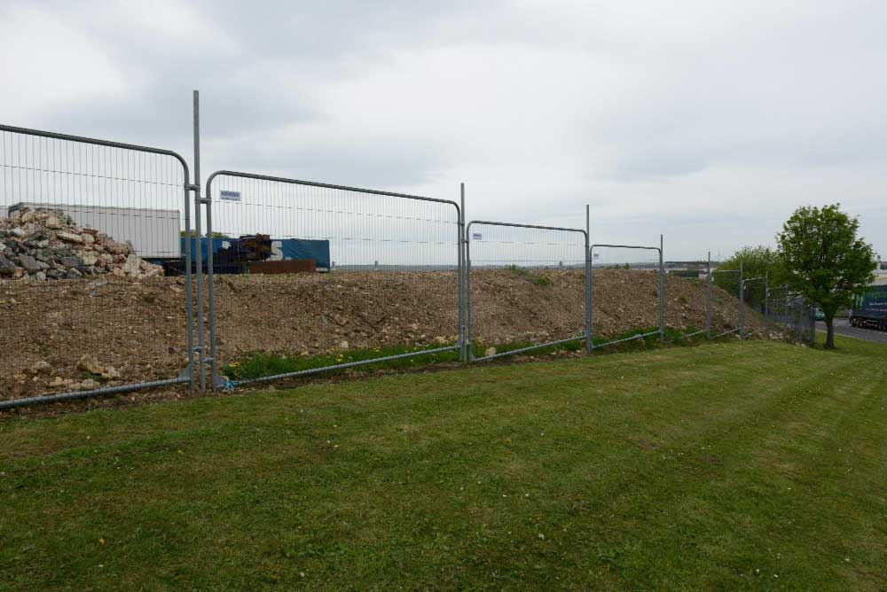 Security fencing for high medium and low sites