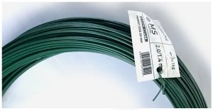 fencing supplies PVC tying wire 2mm with a 1.4mm core