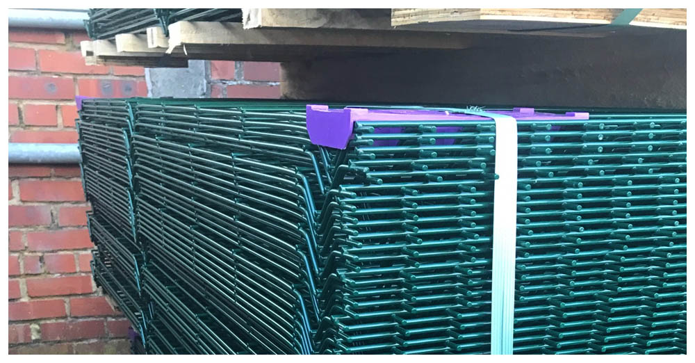 Fencing supplies direct to site palisade and weldmesh panels and fixings